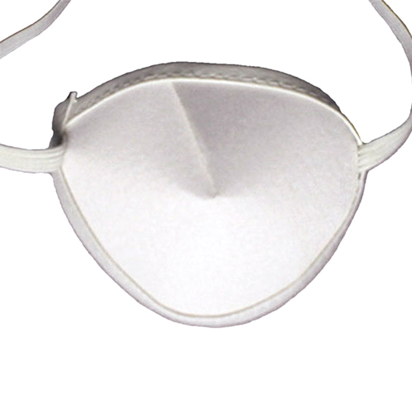 Eye Patches - White Elastic (Large) - Pkg. of 12