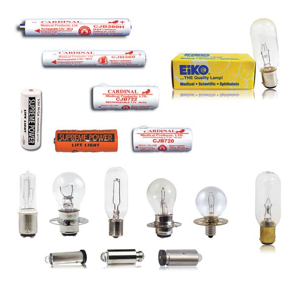 Bulbs & Batteries