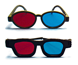 Red/Green/Blue & Polarized Glasses